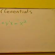 The Differential in the Denominator