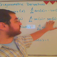 Taking Derivatives of Trigonometric Functions