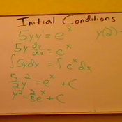 Solving for Different Initial Conditions
