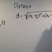 Determining Distance in N-Space