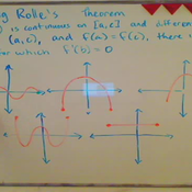 Applying Rolle's Theorem