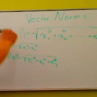 The Norm of a Vector