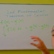 Second Fundamental Theorem of Calculus