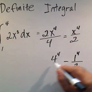 Computing a Definite Integral