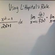 L'Hopital's Rule for Improper Integration