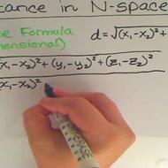 Determining Distance in N-Space