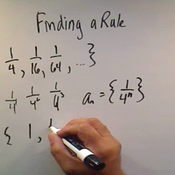 Finding a Rule
