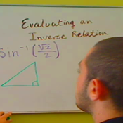 Evaluating an Inverse Relation
