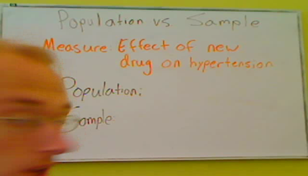 Identifying the Sample and Population