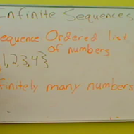 Infinite Sequences