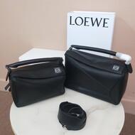 Loewe Puzzle Bag Classic Calf In Black