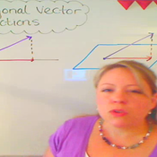 Determining an Orthogonal Vector Projection