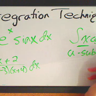 Choosing the Correct Method of Integration