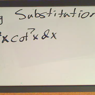 Trigonometric Substitution