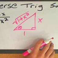 Integration Using Trigonometric Substitution