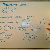 Limits of Geometric Series