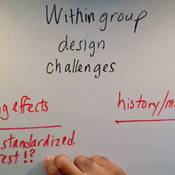 Within Group Design Challenges