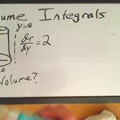 Integrating to Find Volume