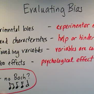 Evaluating Bias in an Experiment