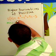 Using Higher Derivatives of Position