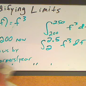 Adapting Limits for Integration