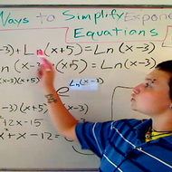 Ways to Simplify Exponential Equations