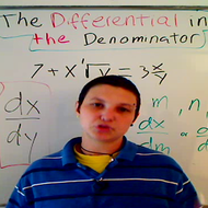 The Differential in the Denominator