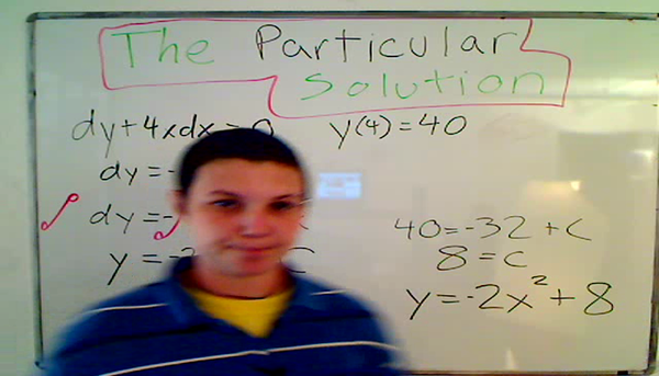 The Particular Solution
