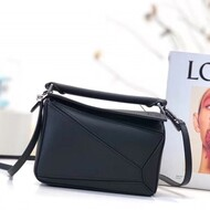 Loewe Puzzle Mini Bag Classic Calf In Black