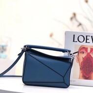Loewe Puzzle Mini Bag Classic Calf In Blue