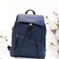 Loewe Puzzle Backpack Grained Calfskin In Navy Blue