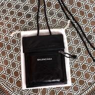Balenciaga Explorer Pouch Strap In Black