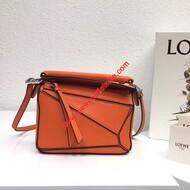 Loewe Puzzle Mini Bag Classic Calf In Orange