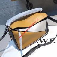 Loewe Puzzle Patchwork Bag Calfskin Yellow