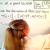 Taking the Derivative Form Two