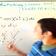 Matching Limits and Differential