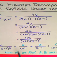 Decomposing with Repeated Linear Terms