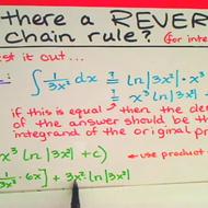 Reverse Chain Rule