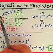 Integrating to Find Volume