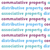 Math 6: Review of Properties