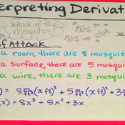 Interpretation of Derivatives of Polynomials