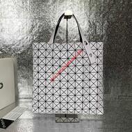 Issey Miyake Prism Basic Tote Bag White