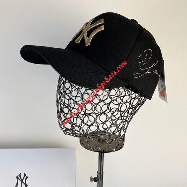 MLB NY Heroes Adjustable Cap New York Yankees Hat Black