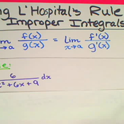 L'Hopital's Rule for Improper Integration