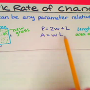 Static Rate of Change