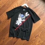 MLB NY Bark Short Sleeve T-shirt New York Yankees Black