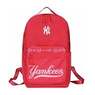 MLB NY Team Logo Backpack New York Yankees Red