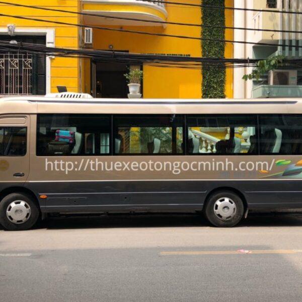 Thue xe 29 cho Ha Noi – Lua chon van tai Ngoc Minh