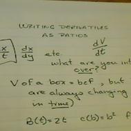 Derivative Ratios