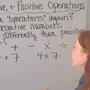 Negative and Positive Operations